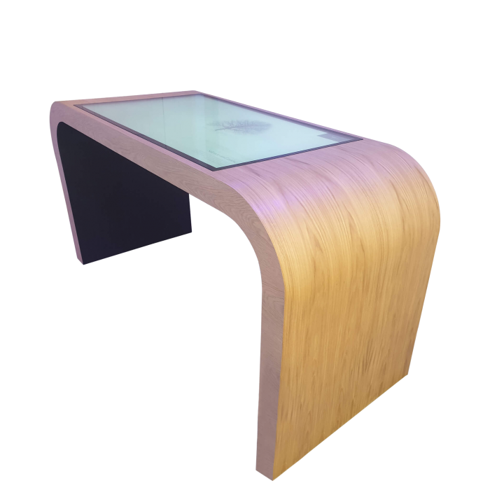 IH Planning Table Timber Curved